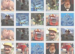 All John's Pixar Characters